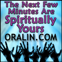 The Next Few Minutes Are Spiritually Yours